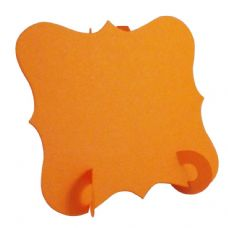 24 x Orange Elegant Place Cards, Perfect for Stylish Weddings & Parties. Tableware UK Card Crafts